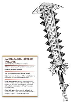 Dungeons And Dragons Homebrew, D&d Dungeons And Dragons, Aztec Weapons, Dnd Stats, Sword Drawing, Aztec Culture, Cool Swords, Dnd 5e Homebrew, Aztec Art
