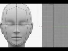 Face tutorial part 1/7 in Blender(Must Watch!!!)