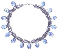 Blueberry quartz Blueberry, Beaded Necklace, Quartz, Jewelry, Fashion, Beaded Collar, Moda, Berry, Jewlery