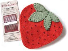 Strawberry Needlebook | Flickr - Photo Sharing!