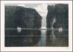 Walter Conz (1872-1947), Schlosspark - 1900