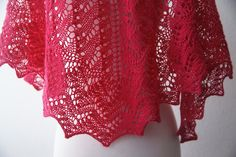 Knitting Pattern PDF / The Lisa One Skein Shawl by FickleKnitter, $8.00