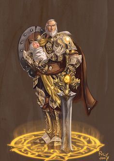 Lord Anduin Lothar, The Lion of Azeroth #Warcraft