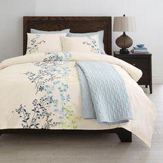 Parure de lit de luxe g o naturel noir beige or couvre lit for Housse de couette sears