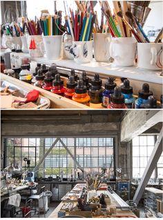 Julia Turner Jewelry #workspace #studio