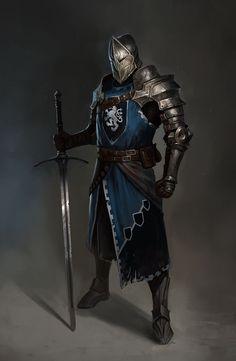 knight, warrior, paladin