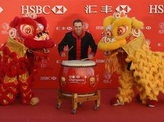 The PGA's Shanghai tournament always produces golf's most amazing and awkward pictures