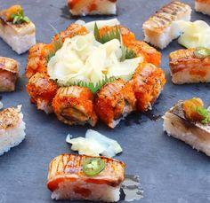 melt in your mouth goodness...'custom aburi sushi' @jabistro222 #jabistro #sushi #foodporn #toronto #sashimi #foodie #foodie #foodieTO #lobster #tapas #bar #pub #aburi #カナダ #刺身 by jabistro222
