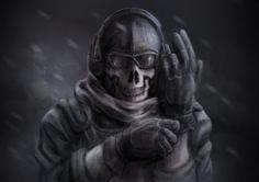Best Call Of Duty Modern Warfare 2 Wallpaper Ghost 6328 Hd 400 x 300