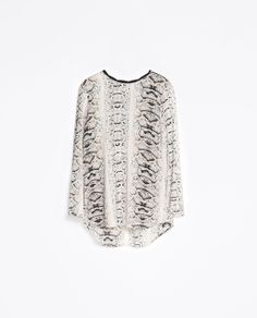 Image 5 of COMBINED PRINTED BLOUSE from Zara