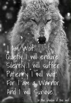 I Am Wolf Quote