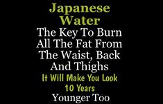 Stop losing weight and act to change your destiny. Weight Loss Bre … - Healthy Drinks to Lose Weight Japanese Ginger, Japanese Water, Healthy Drinks, Get Healthy, Healthy Eating, Ginger Water, Ginger Drink, Lemon Water, Paleo Diet Plan