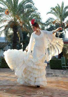 Traje de Flamenca modelo Ilusion