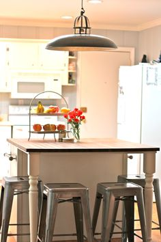 How to enlarge a kitchen island for Kathryn's kitchen