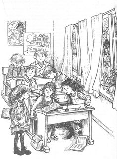 Illustration Sketches, Children's Book Illustration, Book Illustrations, Art Template, Black And White Drawing, Free Coloring Pages, Drawing Techniques, All Art, Adult Coloring