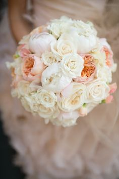 Good color combo for bride bouquet, but maybe just slightly more light pinks/light oranges
