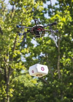 A drone has successfully delivered a package to a residential location in a small Nevada town, marking the first fully autonomous urban drone delivery in the U.S.