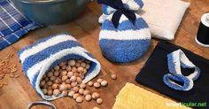 Kirschkernkissen selbermachen: natürliche Wärmflasche und Kühlpack