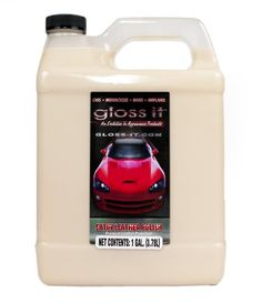 Gloss-it 01128 Satin Leather Polish - 1 Gallon - http://www.productsforautomotive.com/gloss-it-01128-satin-leather-polish-1-gallon/