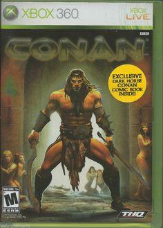 Conan  (Xbox 360, 2007)  Rating: M - Mature