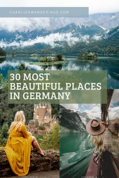 This guide to the most beautiful places in Germany also includes the perfect 3 week Germany itinerary. If you want to spend 3 weeks in Germany, you'll have plenty of time to check out the places on this Germany bucket list. Don't miss out on the best places to go in Germany on your Germany road trip. | travel Germany beautiful places | Germany travel photography beautiful places | most instagrammable places in Germany | best places to visit in Germany | Germany bucket list places to visit Europe Train Travel, Berlin Travel, Spain Travel, Germany Travel, European Destination, European Travel, Germany Photography, Travel Photography, Cool Places To Visit
