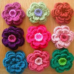 I want to learn how to make these little flowers