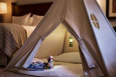 During the winter months, camping is brought to life for our youngest guests at The Ritz-Carlton, Bachelor Gulch.