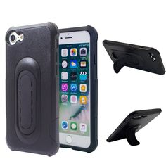iPhone 7 Case 4-in-1 Mount Case/Kickstand/Grip/Protection,UCHO [Tough Armor] Heavy Duty Extreme Protection Cover Shockproof Heavy Duty Case for iPhone 7 (Black). Multi-functional: Dual Layer designed. The removable outer layer can work as a stent, which enable the phone to be placed on the desk or in your horizontal air vent or flush cd/dvd slot after simply clicking out the Clipstic. Use GPS while keeping your eyes on the road. Impact-Resistant Dual Layers: Constructed from high-grade…