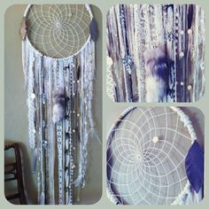 Dream Catcher with Lace Trim