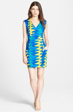 Plenty by Tracy Reese Sleeveless Pocket Shift Dress available at #Nordstrom