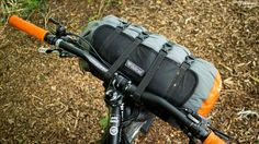Wildcat Gear's Fat Lion harness is aimed at carrying larger dry bags (13-35l) just below your handlebar, with colder expeditions in mind.