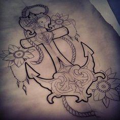 #anchor #tatoo #anchor tatoo #oldschool