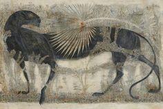 Georgian artist Merab Abramishvili
