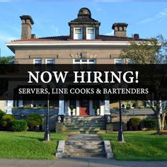 We're currently looking to fill positions for servers, line cooks and bartenders! Positions are available both full and part time. Give us a call at (724) 785-3200 for more information or stop in for an application. Share this with whoever may be interested!