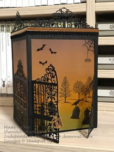 Detailed Gate Thinlits Dies by Stampin' Up