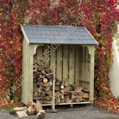 Okeford Log Store (4ft wide)
