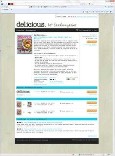 Delicious webshop