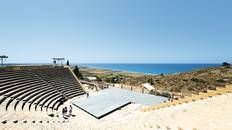 Take in a show in Kourion #Cyprus
