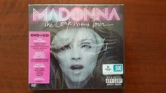 Madonna The Confessions Tour CD + DVD Thailand 444892  SEALED Rebel Tour