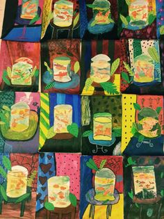 """I plucked and revamped this lesson from my """"student teaching days"""" archive. Henri Matisse is a classroom table and has ALWAYS been one of my favorite artists. I love teaching students about his us..."""
