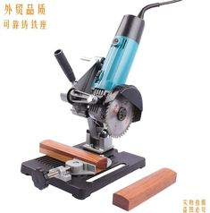 Angle Grinder to Drop Saw
