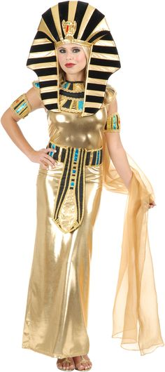 Disfraz Reina Egipcia Nefertiti Para Adulto Disfraces