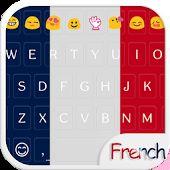 French Emoji Keyboard Theme
