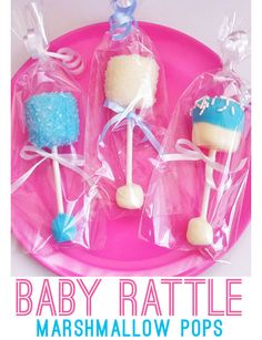 Baby Shower Treats for Girls | Baby Shower Favors for Girls | Click for Tutorial