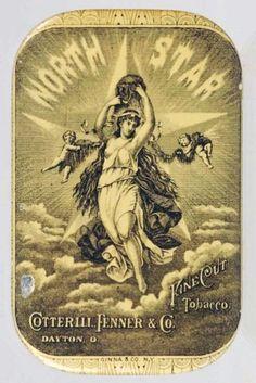 North Star Flat Pocket Tobacco Tin. : Lot 2