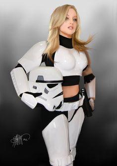 Star trooper clone Naked female wars