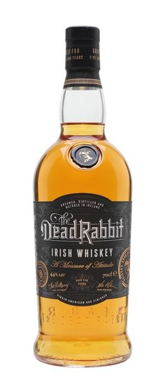 The Dead Rabbit Irish Whiskey - 5 Year Old : The Whisky Exchange Jameson Irish Whiskey, Irish Whiskey Brands, Single Malt Irish Whiskey, Bourbon Whiskey, Whiskey Girl, Scotch Whisky, Malt Whisky, Whiskey Accessories, Whiskey Tour