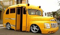 School bus or cool bus?  That is the question.