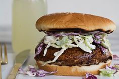 Get the beef off your buns this Monday and opt for a juicy portabella burger instead. Topped with crunchy coleslaw and tangy barbecue sauce, there's no way your family will miss the meat!