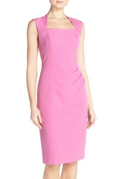 Adrianna Papell Pleated Sheath Dress available at #Nordstrom